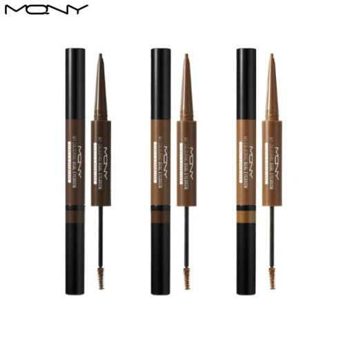 MACQUEEN NEWYORK My Colouring Dual Eyebrow Pencil & Browcara 0.1g+2.0g