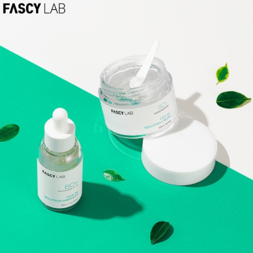 FASCY LAB Cica AC Solution Ampoule Cream Set 2items