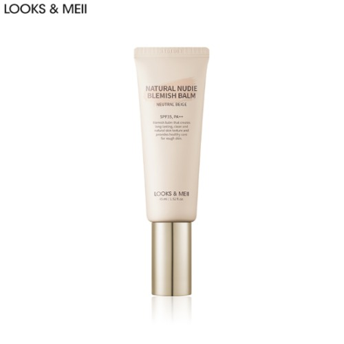 LOOKS & MEII Natural Nudie Blemish Balm SPF35 PA++ 45ml