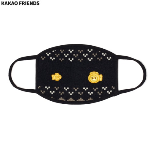 KAKAOFRIENDS Mask Fish Shaped Ryan 1ea