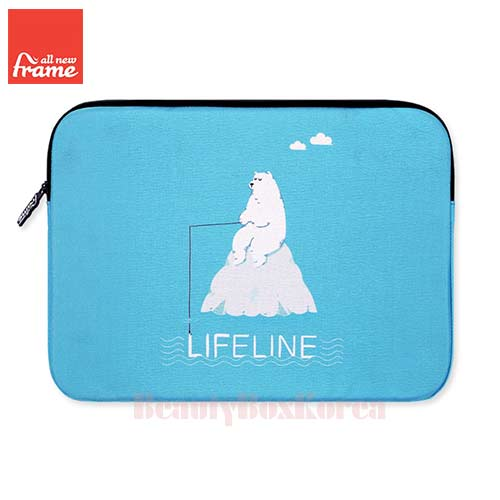 ALL NEW FRAME Life Line Tablet Pouch (iPad Air/Air 2,Galaxy Tap S2) 1ea,ALL NEW FRAM