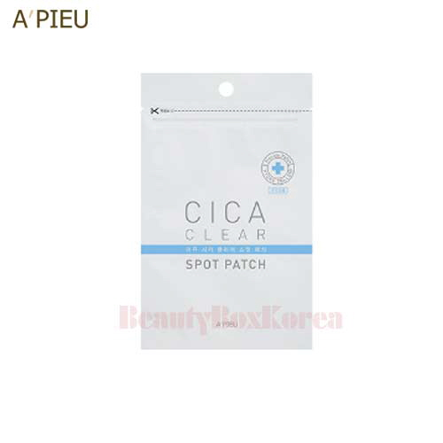 A'PIEU Cica Clear Spot Patch 1ea (20Patch),A'Pieu