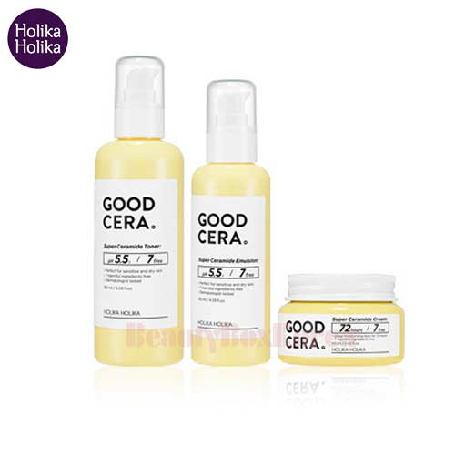 HOLIKAHOLIKA Good Cera Super Ceramide Set 3items,HOLIKAHOLIKA