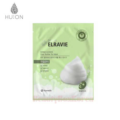 HU:ON Derma Elravie Clear Bubble Tox Mask 18g,HU:ON