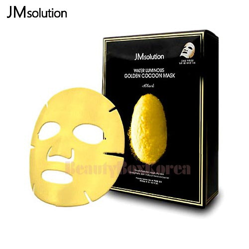 JM SOLUTION Water Luminous Golden Cocoon Mask Black 45g*10ea,JM SOLUTION