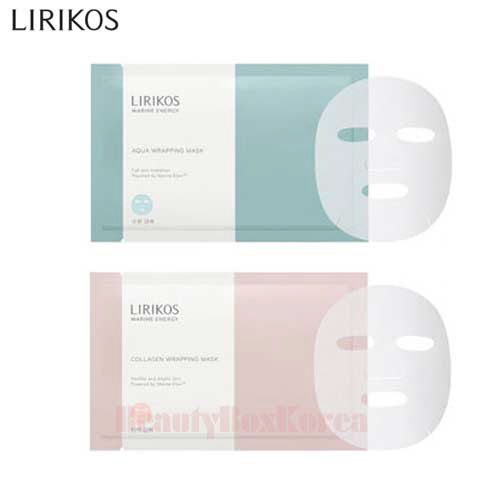 LIRIKOS Marine Energy Wrapping Mask 28ml*10ea,LIRIKOS