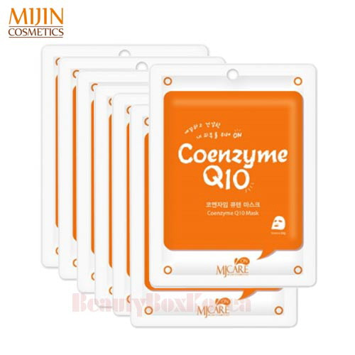 MJ CARE On Coenzyme Q10 Mask 22g*10ea,MJ Care
