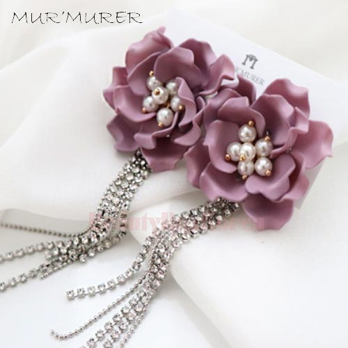 MUR'MURER Rose Berry Earrings 1pair,MUR'MURER