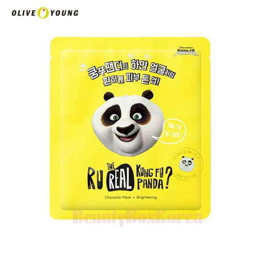 OLIVEYOUNG Dreamworks R U Real Kung Fu Panda Mask 13g,OLIVE YOUNG