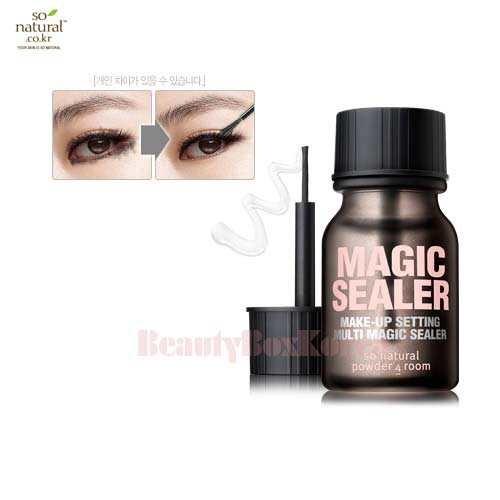 SO NATURAL Make Up Setting Multi Magic Sealer 10ml,SO NATURAL