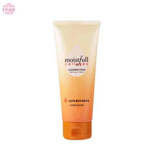 ETUDE HOUSE Moistfull Collagen Cleansing Foam 150ml,ETUDE HOUSE