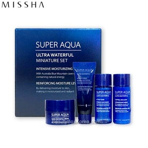 [mini] MISSHA Super Aqua Ultra Waterful Miniature Set 4items,MISSHA