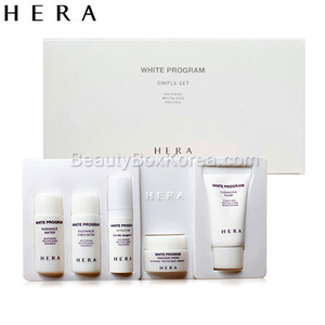 [mini] HERA White Program Simple Set (5items),HERA