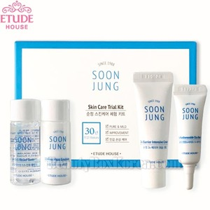 [mini] ETUDE HOUSE Soon Jung Skin Care Trial Kit 4iems,Own label brand