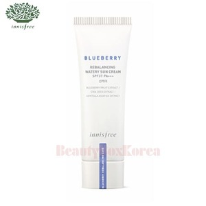 INNISFREE Blueberry Rebalancing Watery Sun Cream SPF37 PA+++ 40ml,INNISFREE
