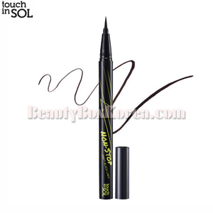 TOUCH IN SOL Non-Stop Swift Black Pen Liner 0.5g,TOUCH IN SOL