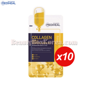 MEDIHEAL Collagen Impact Essential Mask EX 24ml*10ea,MEDIHEAL