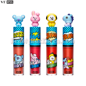 VT X BT21 Art In Lip Tint,Beauty Box Korea