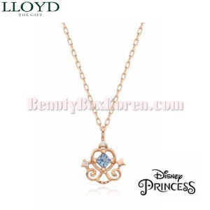 LLOYD Cinderella Necklace 1ea LNT19032T [LLOYD X DISNEY Princess],Beauty Box Korea
