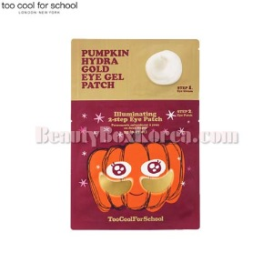 TOO COOL FOR SCHOOL Pumpkin Hydra Gold Eye Gel Patch 1ml+5g
