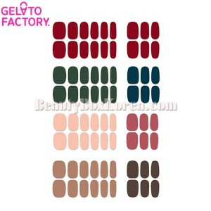 GELATO FACTORY Hatto Hatto Nail Fit PRO 1ea [Autumn Mood Palette]