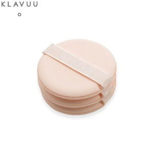 KLAVUU Velvet Cushion Puff 3ea