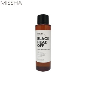 [mini] MISSHA Super Off Cleansing Oil #Blackhead Off 100ml
