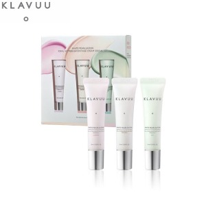 KLAVUU White Pearlsation Ideal Actress Backstage Cream Set 3items
