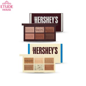 ETUDE HOUSE Play Color Eyes Mini HERSHEY'S 0.8g*6colors [ETUDE HOUSE X HERSHEY'S 2020 Chocolate Collaboration]