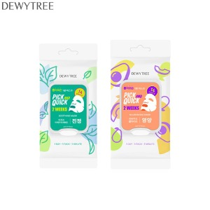 DEWYTREE Pick And Quick 2 Weeks Mask 14ea 150g