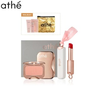 ATHE Lip&Cheek Makeup Holiday Set 2items