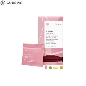 CUBE ME Slim Cube 1.63g*28packs (45.64g)