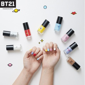 BT21 Nail Polish 8.5ml [BT21 X SHUSHU&SASSY]