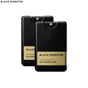 BLACK MONSTER Oil Control Mist 17ml*2ea