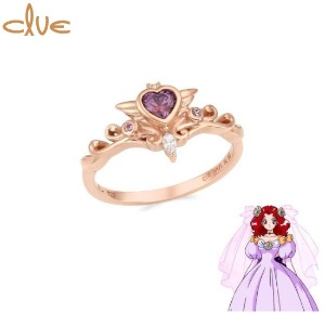CLUE Saint Something Four Something New Silver Ring (CLRR20W005PV) 1ea [CLUE X Wedding Peach 2nd collaboration]