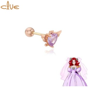 CLUE Sarubia Something New 10K Gold Piercing (CLE20303T) 1pc [CLUE X Wedding Peach 2nd collaboration]
