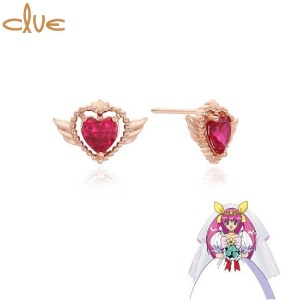 CLUE Wedding Peach Something Old Gold Earrings (CLE20371T) 1pair [CLUE X Wedding Peach 2nd collaboration]