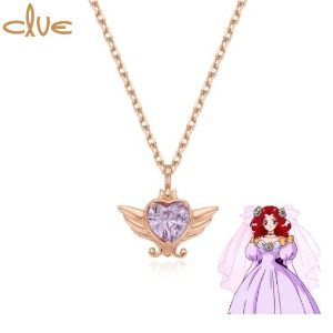 CLUE Saint Something New Gold Necklace (CLN20304T) 1ea [CLUE X Wedding Peach 2nd collaboration]