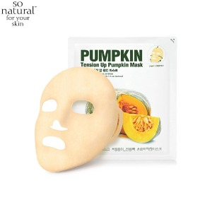 SO NATURAL Tension Up Pumpkin Mask 1ea