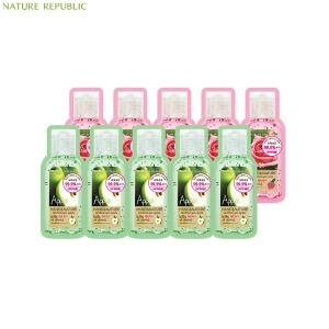 [mini] NATURE REPUBLIC Hand&Nature Sanitizer Gel Pouch 2ml*10ea