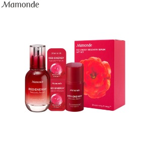 MAMONDE Red Energy Recovery Serum Gift Set 4items
