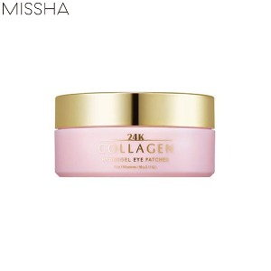 MISSHA 24K Collagen Hydrogel Eye Patches 60ea 90g[Online Excl.]