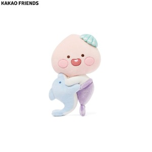 KAKAO FRIENDS Soft Plush Toy Mermaid Apeach 1ea