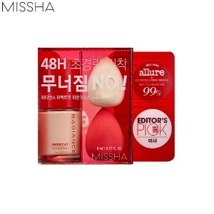 MISSHA Radiance Perfect Fit Foundation Special Mini Kit 3items [Limited]