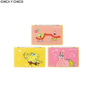CHICA Y CHICO One Happy One Shot Eye Palette 8~9g [SPONGEBOB Limited Edition]