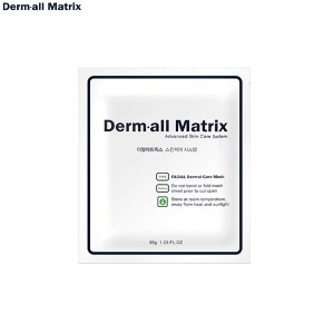 DERM·ALL MATRIX Facial Dermal-Care Mask 35g