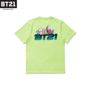 BT21 Space Wappen Lettering Short Sleeve T-Shirt 1ea