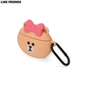 LINE FRIENDS Basic Airpods Case 1ea