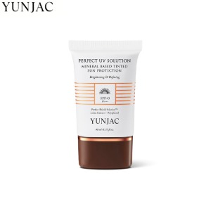 YUNJAC Perfect UV Solution Mineral Based Tinted Sun Protection SPF43 PA+++ 40ml
