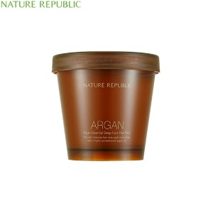 NATURE REPUBLIC Argan Essential Deep Care Hair Pack 470ml,Beauty Box Korea